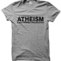 Atheism: a non-prophet organization t-shirt by Clique Wear