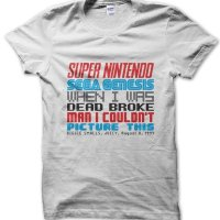 Biggie Juicy lyrics Super Nintendo Sega Genesis Notorious BIG Biggie Smalls t-shirt by Clique Wear