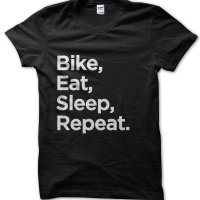 Bike Eat Sleep Repeat t-shirt by Clique Wear