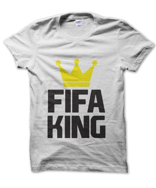 FIFA KING football soccer t-shirt by Clique Wear