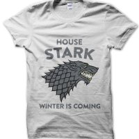 House Stark Winter is Coming Game of Thrones inspired t-shirt by Clique Wear