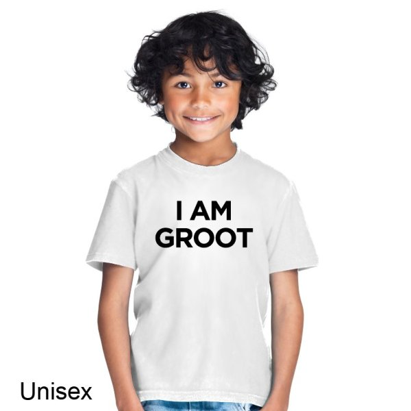 I Am Groot t-shirt by Clique Wear