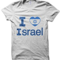I love Israel t-shirt by Clique Wear
