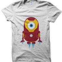 Minion Ironman t-shirt by Clique Wear