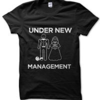New Husband Under New Management Stag Do t-shirt by Clique Wear