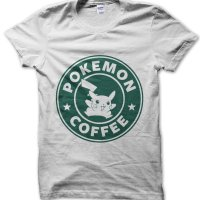 Pokemon Coffee t-shirt by Clique Wear