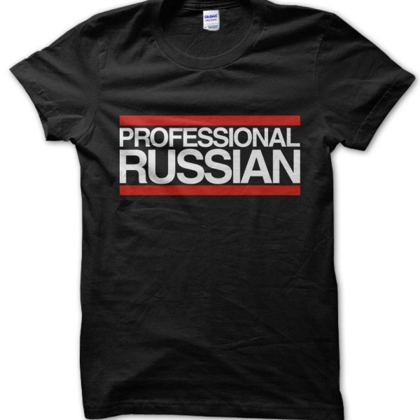 Professional Russian t-shirt by Clique Wear