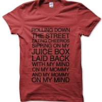 Rolling Down the street... t-shirt by Clique Wear