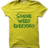 Smoke weed everyday t-shirt by Clique Wear