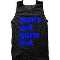 Sun's out guns out tank top / vest by Clique Wear