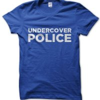 Undercover Police t-shirt by Clique Wear