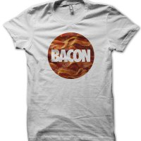 Bacon circle t-shirt by Clique Wear