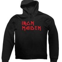 Iron Maiden hoodie by Clique Wear