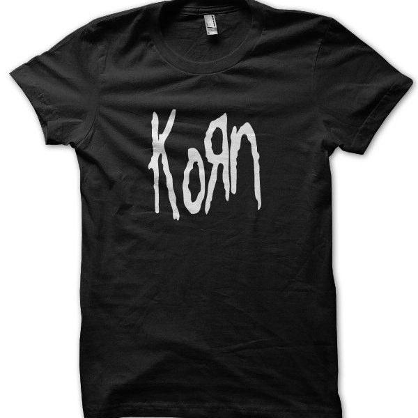 Korn rock band metal music t-shirt by Clique Wear