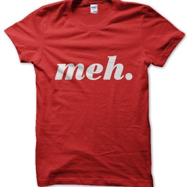 meh t-shirt by Clique Wear