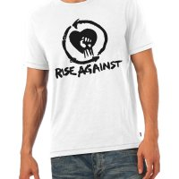 Rise Against rock band metal music t-shirt by Clique Wear