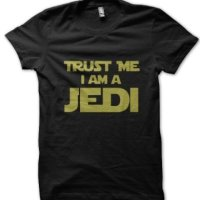 Trust Me I Am a Jedi Star Wars inspired t-shirt by Clique Wear