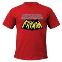 Dinner Dinner Dinner Dinner Fatman t-shirt by Clique Wear