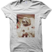 Astronaut Sloth t-shirt by Clique Wear