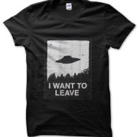 I Want to Leave t-shirt by Clique Wear