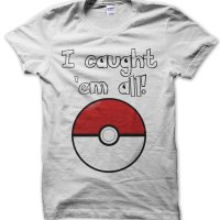 I Caught Em All pokemon t-shirt by Clique Wear