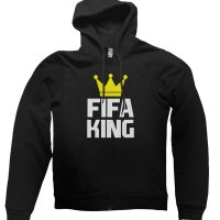 FIFA King hoodie by CliqueWear