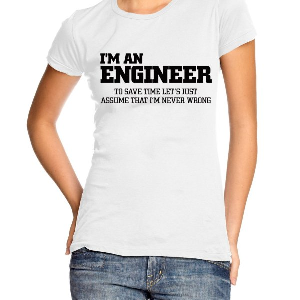 Im an engineer t-shirt by Clique Wear