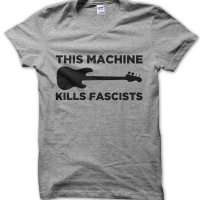 This Machine Kills Fascists t-shirt by Clique Wear