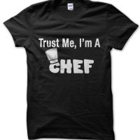 Trust Me Im a chef t-shirt by Clique Wear