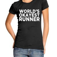 Worlds Okayest Runner t-shirt by Clique Wear