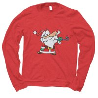 Santa Celebrate Party Christmas jumper by Clique Wear
