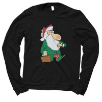 Santa Corporate Christmas jumper by Clique Wear