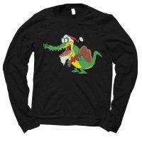 Santa Gator Christmas jumper by Clique Wear