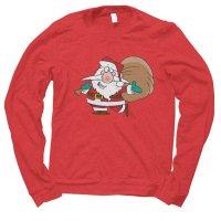Santa Happy Christmas jumper by Clique Wear