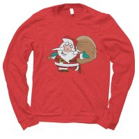 Santa Happy Christmas jumper by Clique Wear