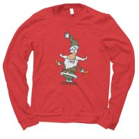 Santa Plaid Christmas jumper by Clique Wear