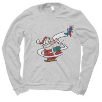 Santa Toy Tester Christmas jumper by Clique Wear
