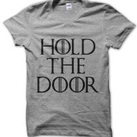 Hold the Door t-shirt by Clique Wear