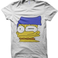 Marge Stretched Face t-shirt by Clique Wear