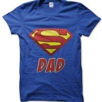 Super Dad logo t-shirt by Clique Wear