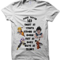 Fathers Day Smart as Vegeta Dragon Ball Z t-shirt by Clique Wear