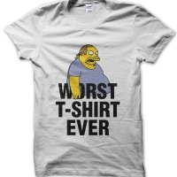 Worst T-shirt Ever t-shirt by Clique Wear