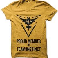 Proud Member of Team Instinct t-shirt by Clique Wear
