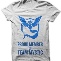 Proud Member of Team Mystic t-shirt by Clique Wear
