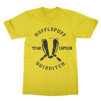 Hufflepuff team captain t-shirt by Clique Wear