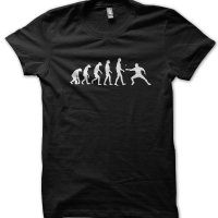Evolution of a Pingpong Player t-shirt by Clique Wear