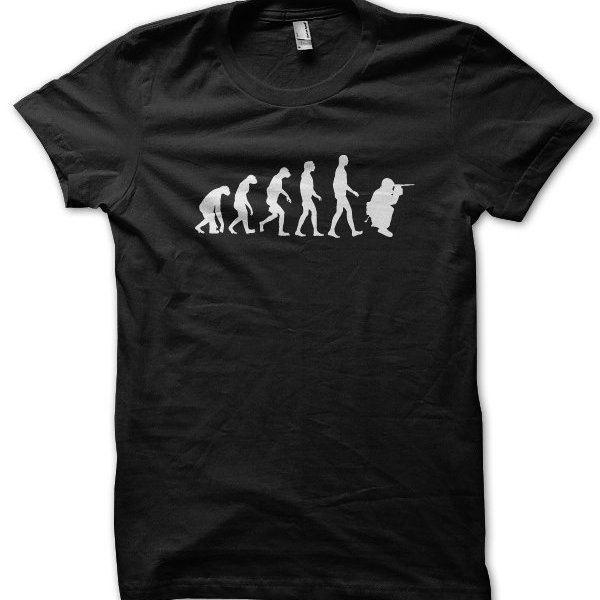 Evolution of a Sniper t-shirt by Clique Wear
