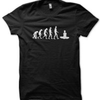 Evolution of a Yoga Master t-shirt by Clique Wear