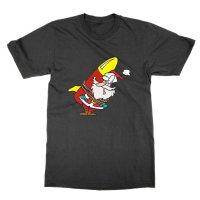 Santa Rocket christmas t-shirt by Clique Wear