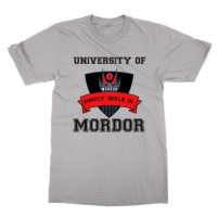 University of Mordor Simply Walk In t-shirt by Clique Wear
